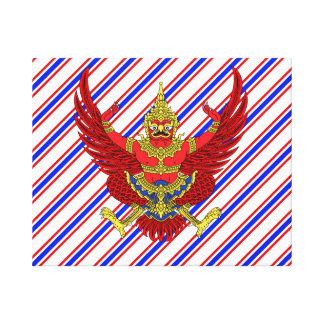 Thailand Coat arms Canvas Print