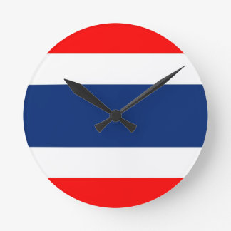 thailand country flag clock