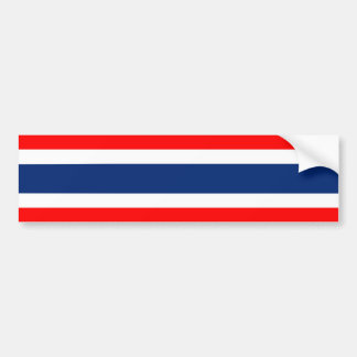 Thailand country flag nation symbol bumper sticker