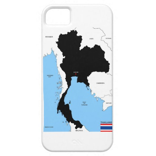 thailand country political map flag iPhone 5 covers