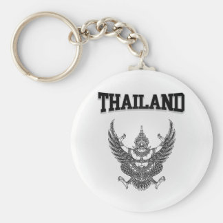 Thailand Emblem Key Ring