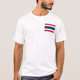 Thailand Flag and Map T-Shirt