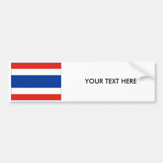 Thailand FLAG Bumper Sticker
