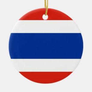 Thailand Flag Ceramic Ornament