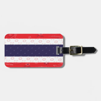 Thailand Flag Luggage Tag