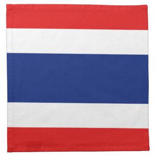 Thailand Flag Napkin