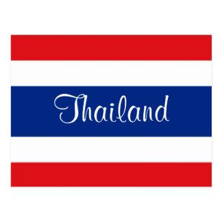 Thailand flag postcards