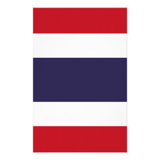 Thailand flag stationery