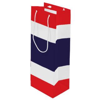 Thailand Flag Wine Gift Bag