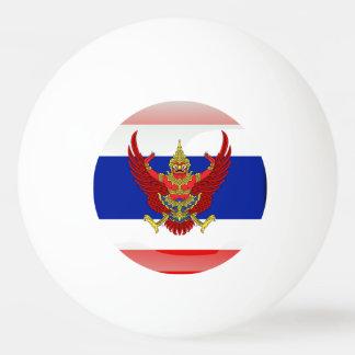 Thailand glossy flag ping pong ball