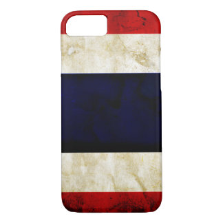 Thailand Grunge Flag iPhone 7 Case