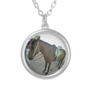 Thailand Horse Silver Plated Necklace