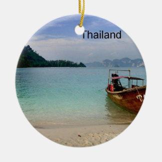 Thailand Krabi beach (new) (St.K) Ceramic Ornament