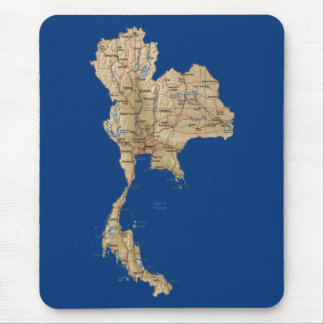 Thailand Map Mousepad