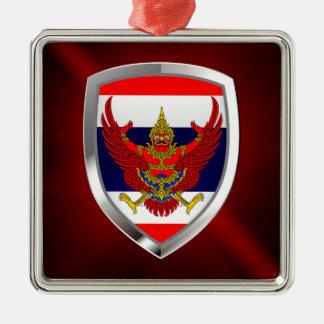 Thailand Metallic Emblem Metal Ornament