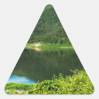 Thailand mountain triangle sticker