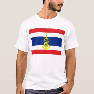 Thailand Naval Jack Flag T-Shirt
