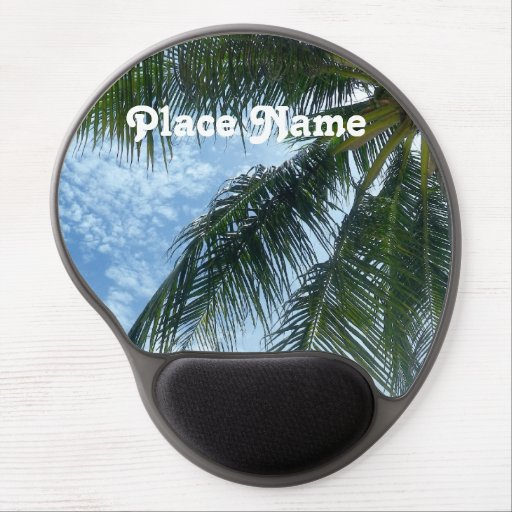 Thailand Palm Tree Gel Mouse Pad