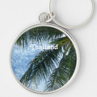 Thailand Palm Tree Key Chains