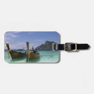 Thailand, Phi Phi Don Island, Yong Kasem beach, Luggage Tag