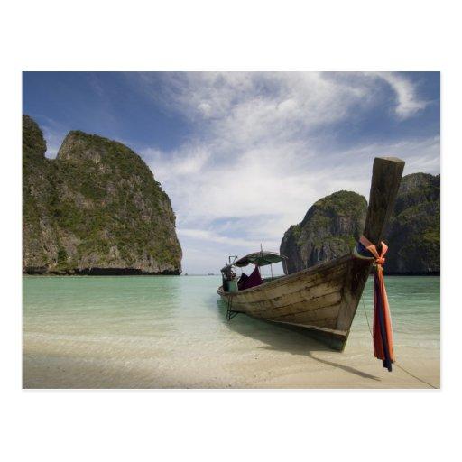 Thailand, Phi Phi Lay Island, Maya Bay. Post Cards
