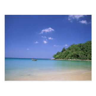 Thailand, Phuket Island. Beach. Postcard