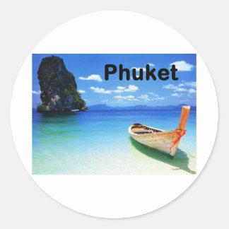 Thailand Phuket (St.K) Round Sticker