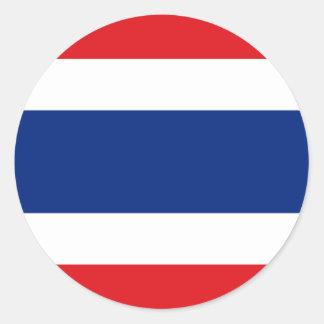 Thailand Round Sticker
