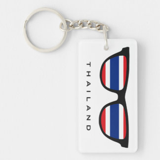 Thailand Shades custom text & color key chain