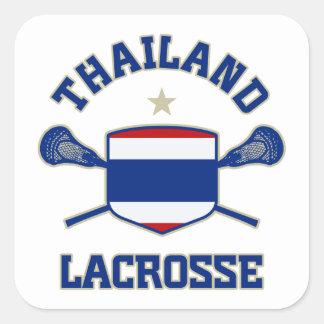 Thailand Square Sticker
