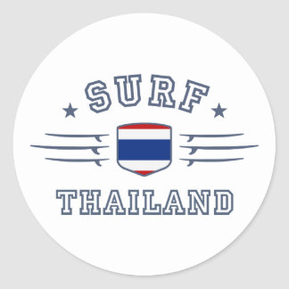 Thailand Round Stickers