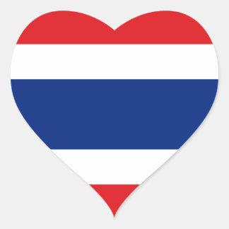 thailand heart sticker