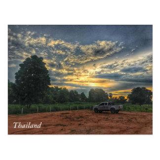 Thailand Sunset Postcard