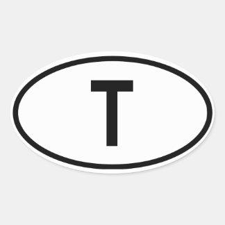 """Thailand """"T"""" Sticker"""