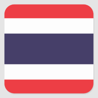 Thailand/Thai Flag Square Sticker