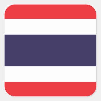 Thailand/Thai Flag Square Sticker