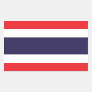 Thailand/Thai Flag Rectangle Stickers