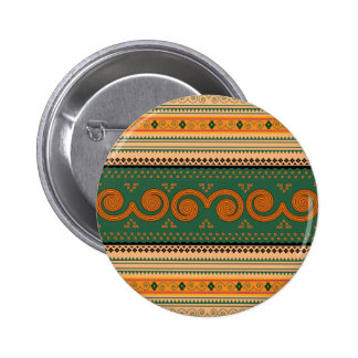 Thailand-Traditional-Patterns--Decorative-art.png 6 Cm Round Badge