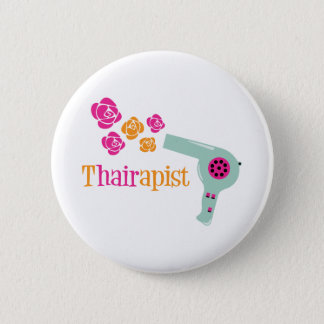 Thairapist 6 Cm Round Badge