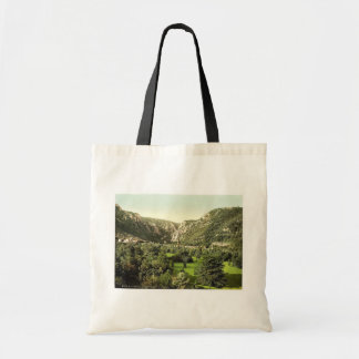 Thale at entrance to valley, Bodethal, Hartz, Germ Canvas Bag