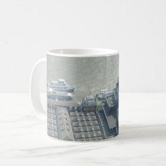 Thames Aerial View White Coffee Mug
