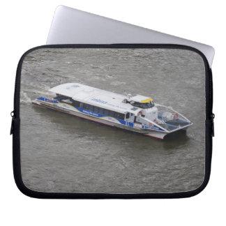 Thames Cruise Boat Neoprene Laptop Sleeve 10 inch