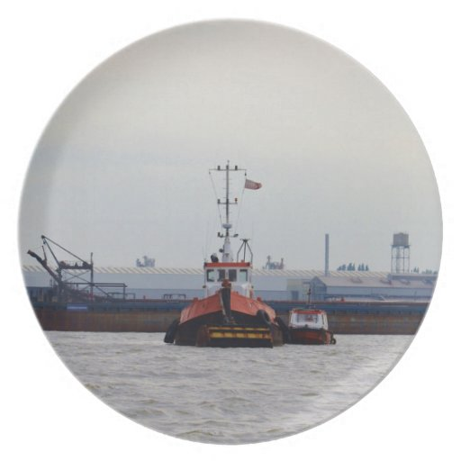 Thames Tug And Motorboat Plates