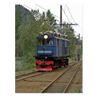 Thamshavnbanen electric locomotive no 8 postcard
