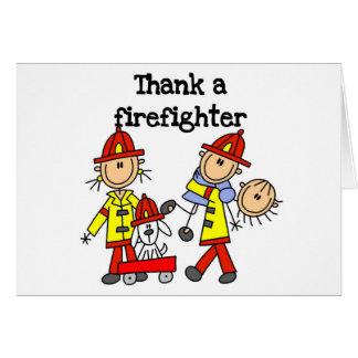 Thank a Firefighter Card
