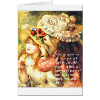 Thank a friend - Anne of Green Gables Quote Card