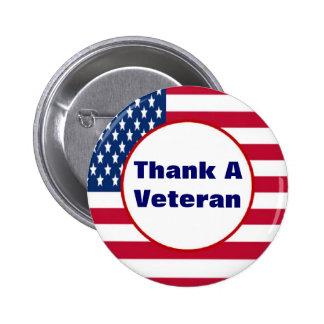 Thank A Veteran Button