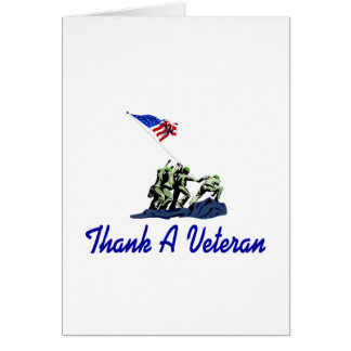 Thank A Veteran Card