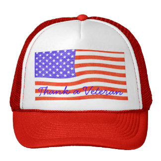 Thank a Veteran Trucker Hat