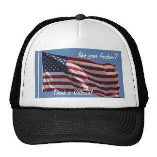 Thank a Veteran! Trucker Hat